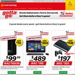 "Gotta Go: WD 2TB $99 | iPad Mini3 $499 | PS3 $197 | LG32"" IPS FHD LED $299 @ Noel Leeming"
