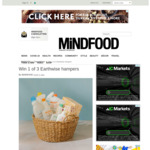 Win 1 of 3 Earthwise Hampers (Worth $100) from Mindfood