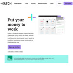 Make an Initial Deposit of NZ$100 or More and Receive $35 Investment Credit @ Hatch