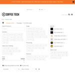 20% off All Coffee Tech Roasted Coffee Beans (No Minimum Spend) @ Coffee Tech