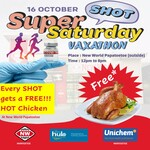 Free Hot Chicken with Every Vaccination @ New World Papatoetoe