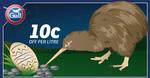 10c off Per Litre 7am to 7pm @ Gull