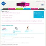 FREE Libra Girl Starter Kit (Pads, Liners & Tampons)