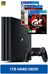 PS4 Pro Console + 3 Games - $569.00 @ EB Games