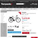 Torpedo7 Aluminium Men's (18 inch) & Women's (16 inch) E-Bike = $1079.99 from Torpedo7