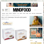 Win 1 of 5 Harraways Oat-Activ Prize Packs from Mindfood