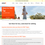 Jetstar Return for Free Airfares: Australia for $200 Return