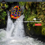 Save $35 pp Whitewater Rafting in Rotorua at Kaituna River or $20 pp at Wairoa River