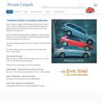 $5 Night Parking Rate @ Atrium Carpark