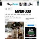 Win a $200 Voucher to The Roku Gin Garden