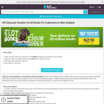 10% off + Free Shipping @Book Depository