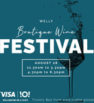 Win 4x General Admission Tickets to The Boutique Wine Festival in Wellington from Verve Magazine