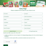 Win 1 of 420 $50 Bonfire Gift Mastercards from Ferrero (Purchase Tic Tacs)