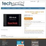 "SanDisk SSD Plus 128GB 2.5"" SATA 6GB/s SSD $74.64 @ Techworld"