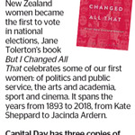 "Win 1 of 3 copies of Jane Tolerton's Book ""But I Changed All That"" from The Dominion Post"