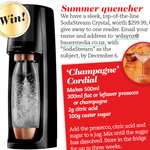 Win a SodaStream Crystal (Worth $299) from Womans Day