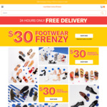 $30 Shoes + Free Delivery @ Number 1 Shoes
