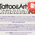 Win Return Flight to Tauranga, Hotel, 2 Hour Tattoo Session from BurgerFuel