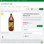 L&P 1.5L $1 @ Countdown