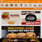 BK Chicken Half Price Hump Day @ Burger King