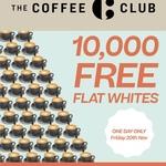 10,000 Free Flat Whites @ Coffee Club