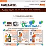 1.125 Litre Jim Beam $39.99 (Mates Club Price) @ Big Barrel