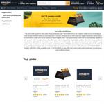 $5 Amazon Credit with Purchase of $75 Amazon Gift Card @ Amazon AU
