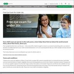 Free Eye Exam for Children Under 16 years Plus Free Glasses for Suitable Children @Specsavers