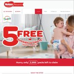 5 Free Huggies Ultimate Nappies