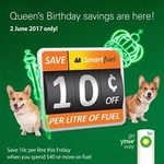 Save 10c/Litre on Fuel at BP (Min Spend $40) @ AA Smartfuel (Fri 2/6)