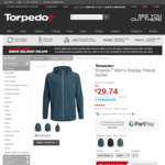 Torpedo7 Men's Fleece Jacket $29.74, 3 Pair Socks $2.99 Massive Sale - Garage Clearout Further Reduced