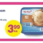 Tiptop IceCream $3.99 for 1 Day at New World