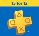 Get 3 Additional Months Free When Purchasing 12 Months PlayStation Plus Membership