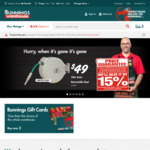 20m Retractable Hose $49, 30 Seconds $24.90 and More @ Bunnings