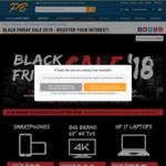 Black Friday Sale at PB Tech - Smartphones from $29, Headphones from $5, i7 Laptops from $797