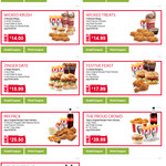 KFC Zinger Gold Snack Box Combo $12.99 & Mix Pack $25.50 + More Coupons @ KFC