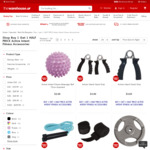 Buy 1 Get 1 HALF PRICE Active Intent Fitness Accessories at The Warehouse