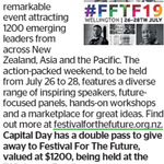 Win a Double Pass to Festival for The Future (Worth $1200) from The Dominion Post (Wellington)