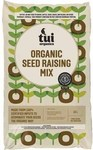 Tui Certified Organic Seed Raising Mix 15 litre $3.99 @ Mitre 10 (Glenfield)