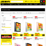 Cost Plus GST on iPads @ JB Hi-Fi