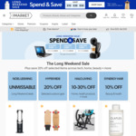 $10 off $100; $30 off $300; $50 off $500 Spend (Exclusions Apply) @ The Market