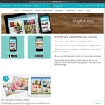 Snapfish App - Print 50 Photos a Month for Free (Delivery Charges Apply)