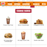 $2 Creamy Mayo Cheeseburger & $2.95 9-Pack Nuggets @ Burger King