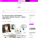 Win a Prize Pack Containing SOL Organics Bedroom Bundle, Vouchers and More Worth $1,611 from Eco Warrior Princess