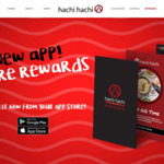 Free $10 Credit at Hachi Hachi Sushi (Christchurch)