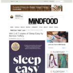 Win 1 of 7 copies of Sleep Easy by Bernice Tuffery from Mindfood