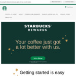 Free Upgrade to Gold Membership by Topping up $50 on Rewards Card @ Starbucks