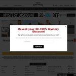 Hallenstein Brothers - Mystery Discount Code - Get 20% - 100% off. Online & Instore