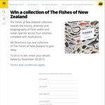 Win a Collection of The Fishes of New Zealand from AA