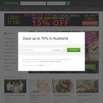 15% off Local Deals (Via App) - $3.40 Waffle & Icecream AKL + More @ Groupon